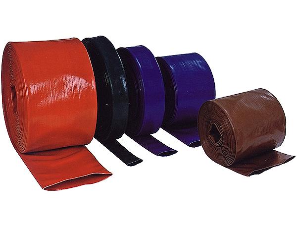 Manguera plana de PVC